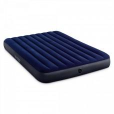 Матрас-кровать INTEX 64759 Classic Downy Bed (Queen) флок 1.52mx2.03mx25cm