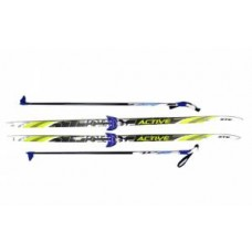 Комплект лыж STC 75мм 200см step