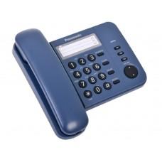 Телефон PANASONIC 2352 RUC син. металл.