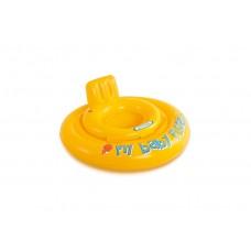 Круг INTEX 56585EU для малыша с сиденьем 6-12мес. 70см