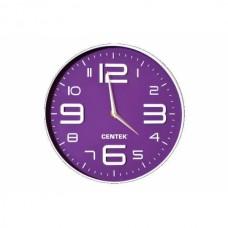 Часы настен. CENTEK CT-7101 фиолет