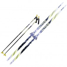 Комплект лыж STC 75мм 185см step
