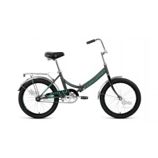 "Велосипед 20"""" FORWARD Arsenal 1.0 складная рама, рост 14"""", серый/бирюзовый"