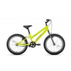 "Велосипед 20"""" ALTAIR MTB HT low женск.рама, рост 10,5"""", 1ск. ярко-зелёный/серый"