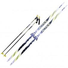 Комплект лыж STC 75мм 150см step