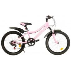 """Велосипед 20"""""""" AVENGER С200W рост 11"""""""", 6ск., розовый/серебристый"""