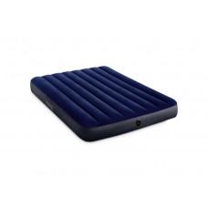 Матрас-кровать INTEX 64758 Classic downy (Fiber tech) Фул, 1,37м x 1,91м x 25см