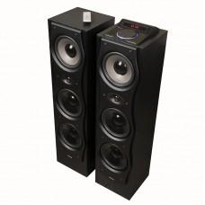 Активная акустическая система ДИАЛОГ AB-530 BLACK 2.0, 130W RMS, Bluetooth, FM, USB, Караоке