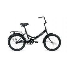 "Велосипед 20"""" ALTAIR City складная рама, рост 14"""", чёрный/серый"