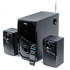 Активная акустическая система ДИАЛОГ Progressive AP-225 BLACK 2.1, 30W+2*15W RMS,Bluetooth,FM,USB