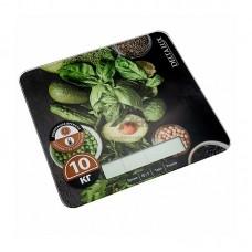 Весы кухонные DELTA LUX DE -005KE 10кг Салатный микс