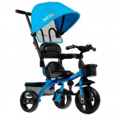 Велосипед 3-х кол. Micio Gioia крыша-капюшон, родит.вело-ручка, синий 4700938