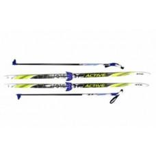 Комплект лыж STC 75мм 195см step