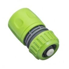 Коннектор для шланга 1/2 с аквастопом 160-029 (50шт.кор.)
