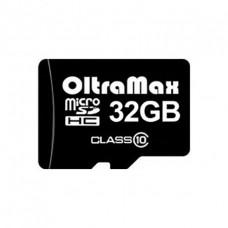 Карта памяти micro SD 32Gb OltraMax Class 10 без адаптера