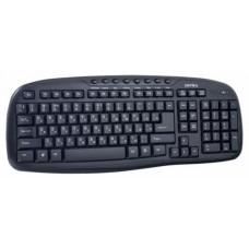 Клавиатура б/пр PERFEO ELLIPS Multimedia USB черная PF-5192