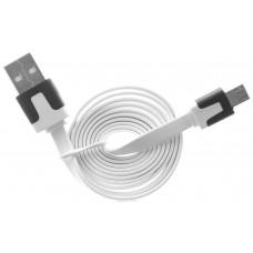 Дата-кабель USB-MicroUSB 1.0м. OLTO ACCZ3015 белый