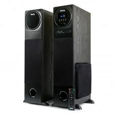 Активная акустическая стереосистема ДИАЛОГ Progressive AP-2300 Black 2.0 Bluetooth караоке пультДУ