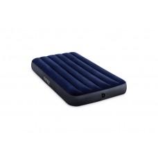 Матрас-кровать INTEX 64757 Classic downy (Fiber tech) Твин, 99см x 1,91м x 25см