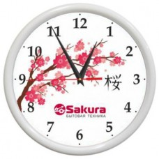 Часы настен. SAKURA Б7 бел
