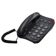 Телефон teXet TX214 черный