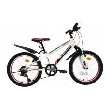 """Велосипед 20"""""""" NAMELESS S2000 рост 13"""""""", 7ск., красный/белый"""
