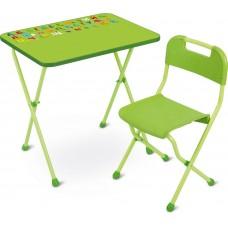 Стол+Стул КА2/С Алина салатовый