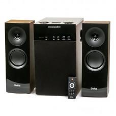 Активная акустическая система ДИАЛОГ Progressive AP-250 2.1 USB+SD Brown караоке