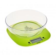 Весы кухонные Delta KCE-32 зелен 5кг