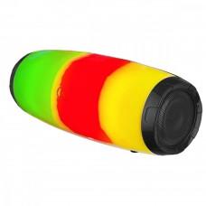 Колонка- труба портативная Perfeo Bluetooth FLARE-UP FM MP3 USB AUX 10W 2400mAh черн c подсв 4703