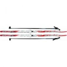 Комплект лыж STC 75мм 175см step