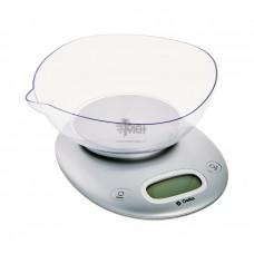 Весы кухонные Delta KCE-34 серебро 5кг