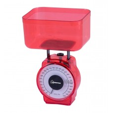 Весы кухонные HOMESTAR HS-3004M, 1кг красн