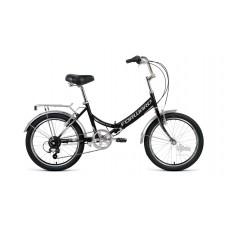 """Велосипед 20"""""""" FORWARD Arsenal 2.0 складная рама, рост 14"""""""", 6ск., чёрный/серый"""