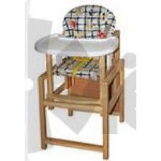 """Стол-стул для кормления """"""""Малыш"""""""" СТД0308 синий"""