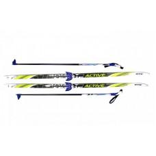 Комплект лыж STC 75мм 170см step