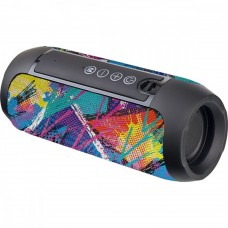 Колонка- труба портативная Perfeo Bluetooth STREET ART FM, USB, AUX, 10Вт, 1200mAh, черная 4697