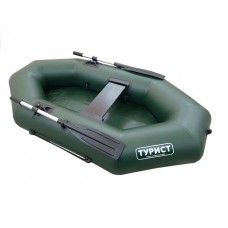 Лодка Турист 220 гребная (зелёная)
