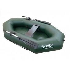 Лодка Турист 220 гребная (зеленая)