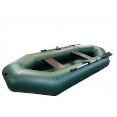 Лодка Турист 260 гребная (зелёная)