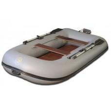 Лодка надувн. BoatMaster 300S Самурай (серый) навесн.транец